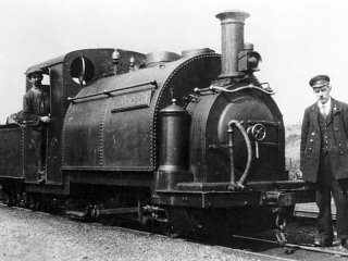 At Minffordd in 1925
