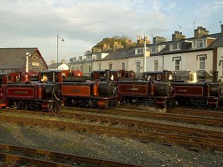 'Double Fairlie' locomotives on show