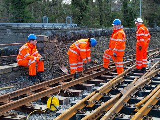 Network Rail apprentices 19 January
