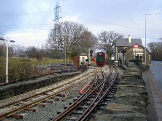 New track leading to Minffordd 8 February