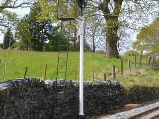 The reintroduced disc signal at Minffordd