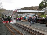 Many engines at Blaenau