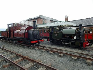 Talyllyn's Edward Thomas with Prince