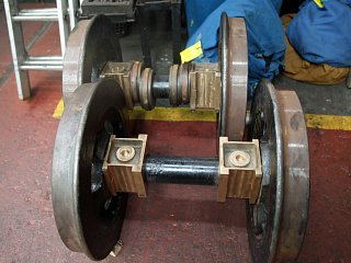 The driving wheelsets