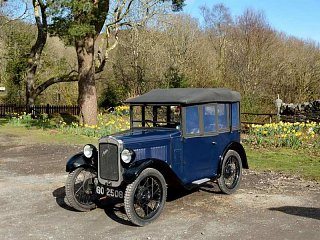 This beautiful Austin 7 was at Tan y Bwlch