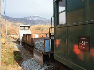 The Works Train at Tunnel South