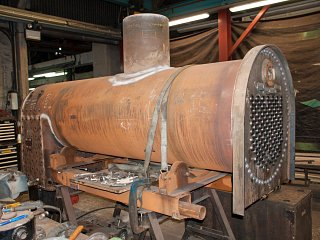 The nearly complete boiler
