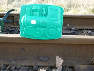 Lunchtime Train - The most important piece of equipment - the lunchbox